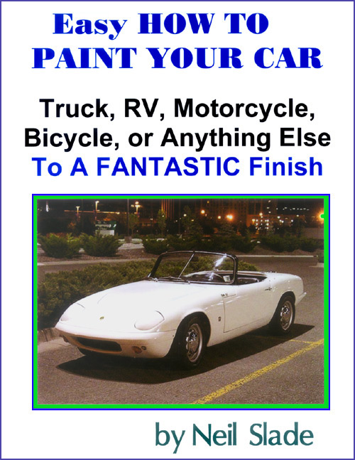 Easy how to paint a car pro your self home spray hvlp instruction an indispensable hands on manual for people wanting to do an expert and easy job of painting their own car or anything else on wheels solutioingenieria Images