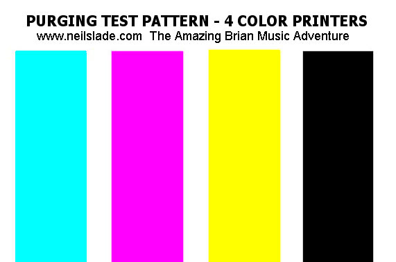 Color Printer Test Page Download : PHOTO INKJET PRINTERS, INK, and PAPER Review, Canon, Epson, Waste Tank Full Error Solution ...